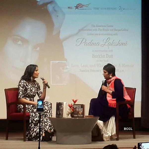 Padma Lakshmi in conversation with Barkha Dutt