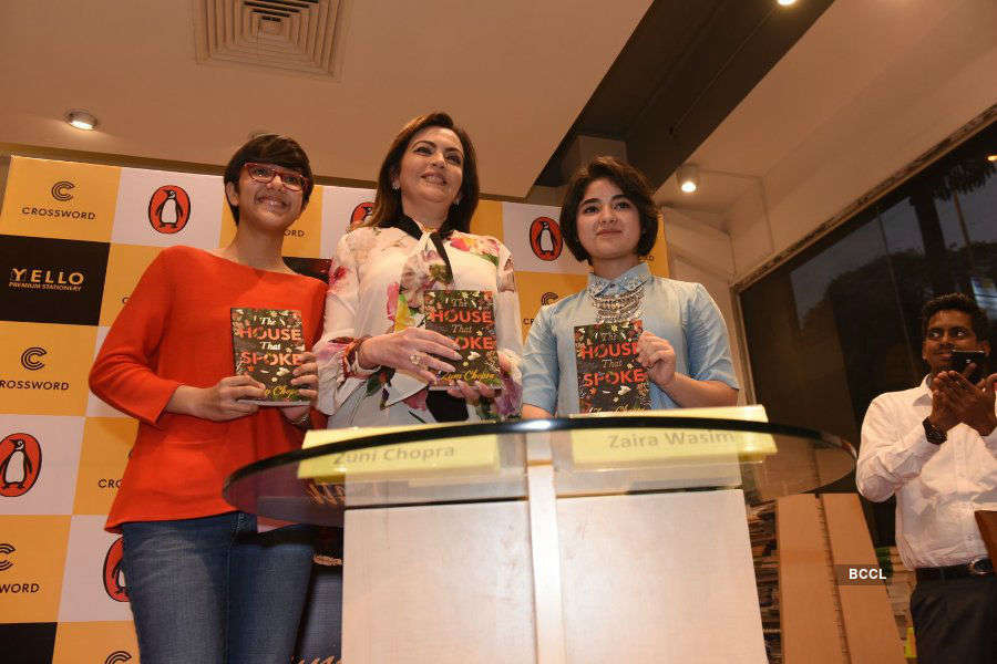 Nita Ambani launches Zuni Chopra's book 'The House That Spoke'
