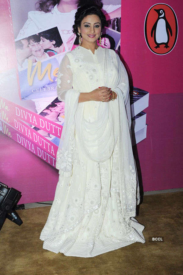 Divya Dutta's book launch