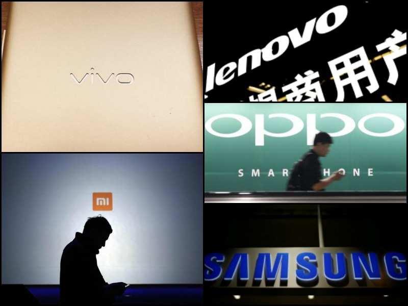 5 biggest smartphone brands in India