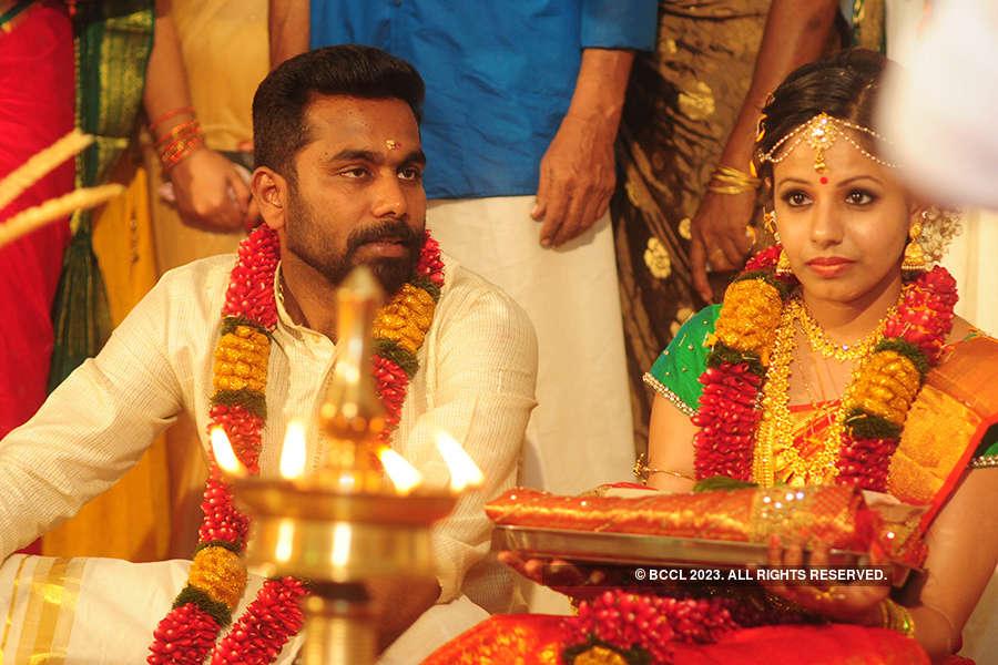 Shyam Dhar & Anjaly's wedding ceremony