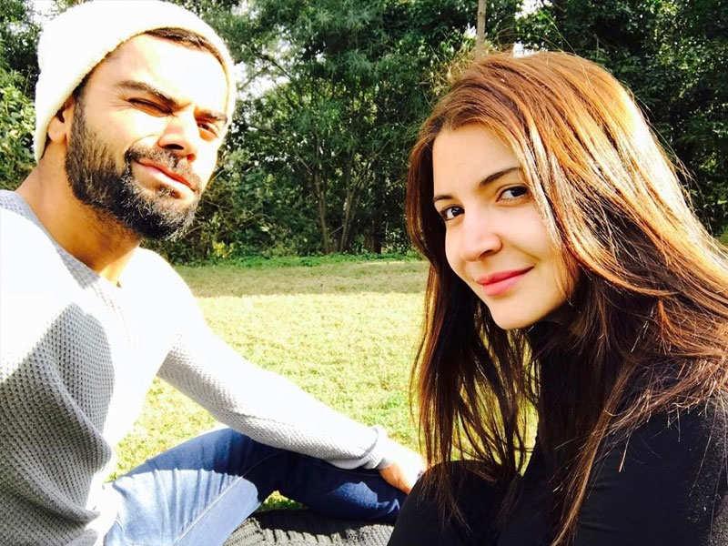 PIC: Virat Kohli posts a beautiful Valentine's Day message for Anushka Sharma