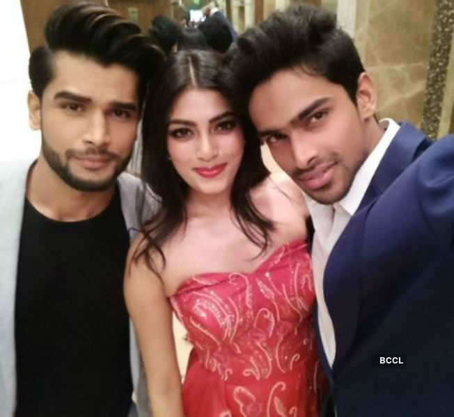 Mr Indias and beauty queen at Grazia Cover Girl Hunt 2017