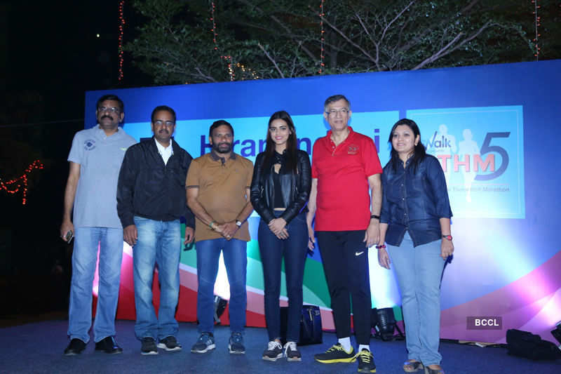 Priyadarshini Chatterjee attends Hiranandani Thane Half Marathon