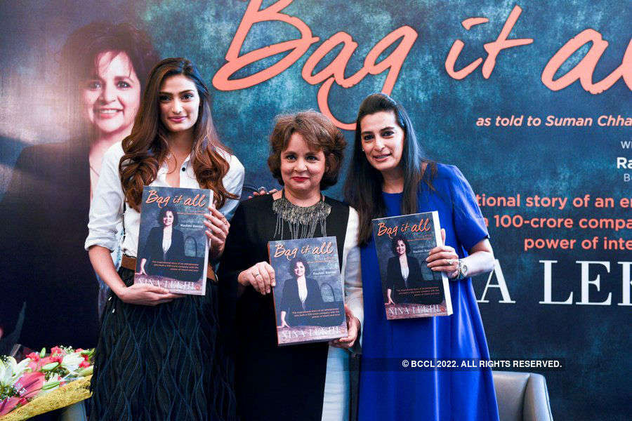 Bag it all: Book launch