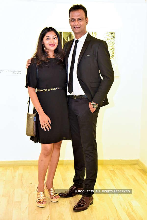 Karthik Srinivasan's exhibition launch