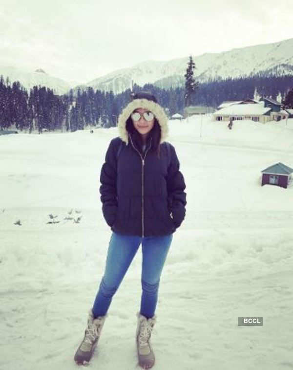 In Pics: Ruhi Singh proves to be a travel freak