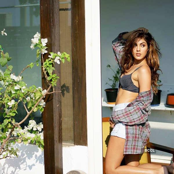 Rhea Chakraborty makes heads turn with her bold photoshoot