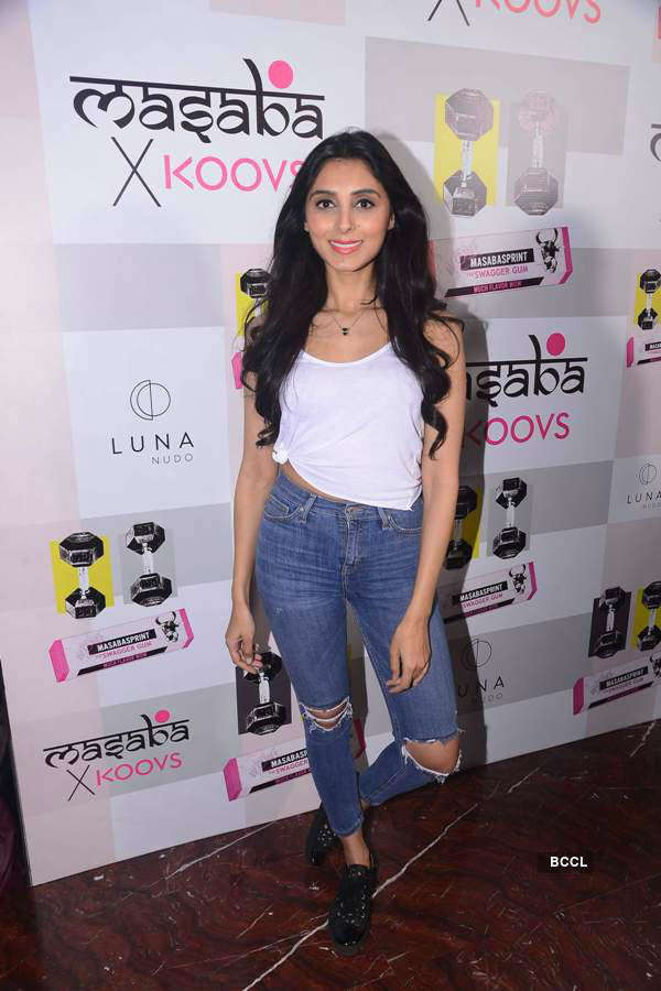 Masaba Gupta's X Koovs launch party