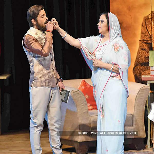 Peechha Karti Parchaaiyan: A play