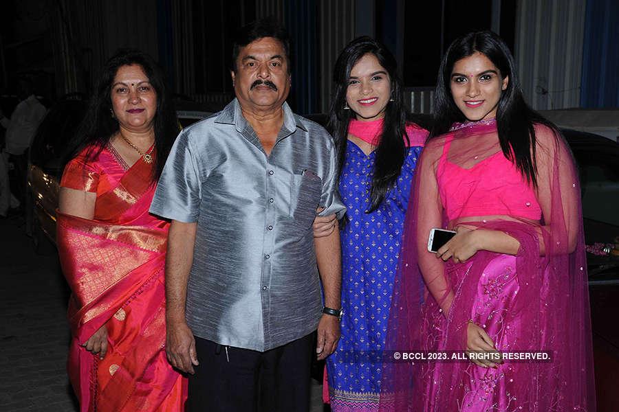 Suni and Soundarya's wedding reception