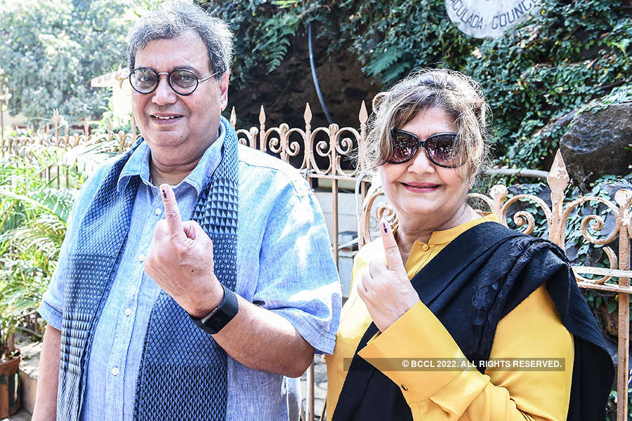Photostory: Sachin, Anushka, Ranveer among other stars, cast their votes at BMC elections