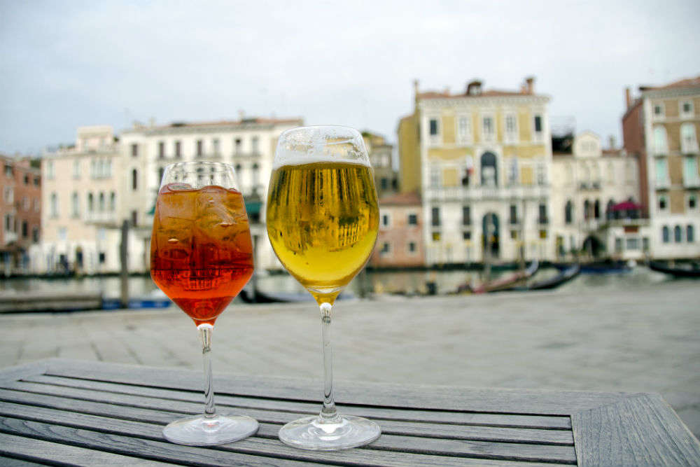 Enjoy a Spritz with the locals at Campo Margherita