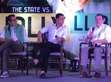 Producers announce sequel at Akshay Kumar's 'Jolly LLB 2' success event