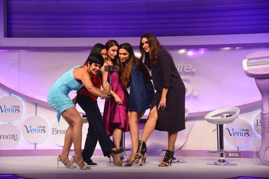 Deepika Padukone, Soha & Neha launch Gillette Venus Breeze