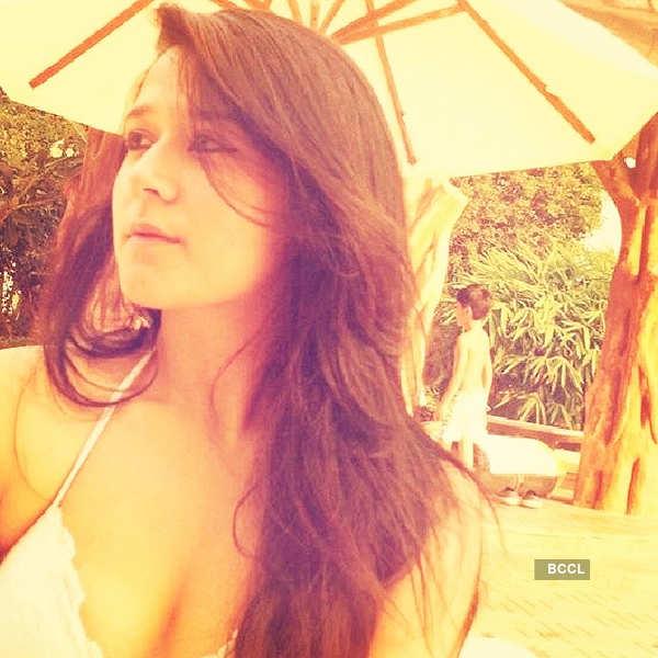 Tiger's sister Krishna Shroff steams up Instagram