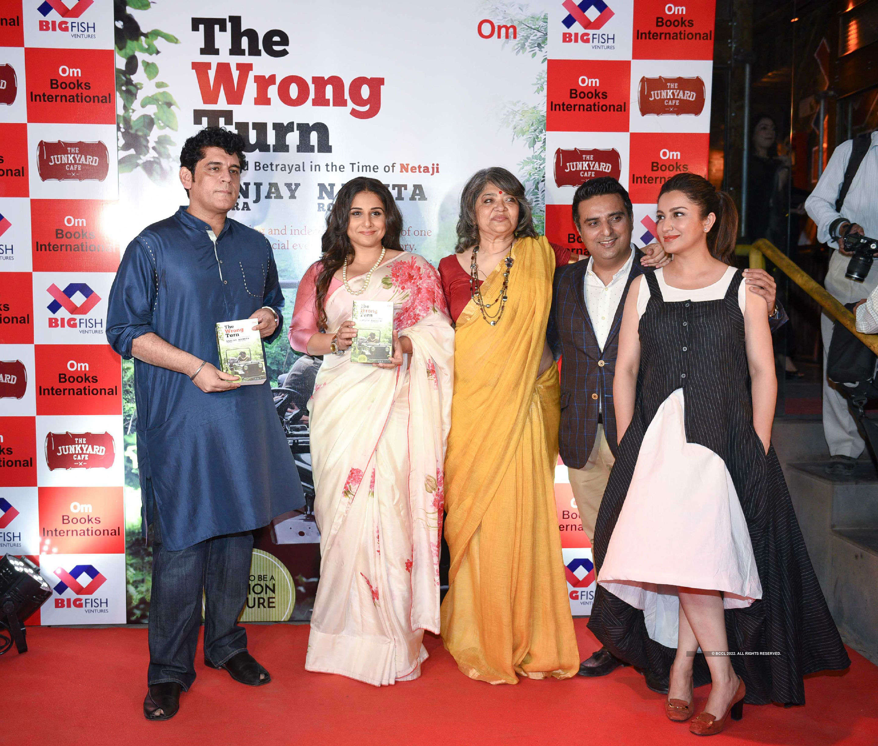 The Wrong Turn: Book Launch