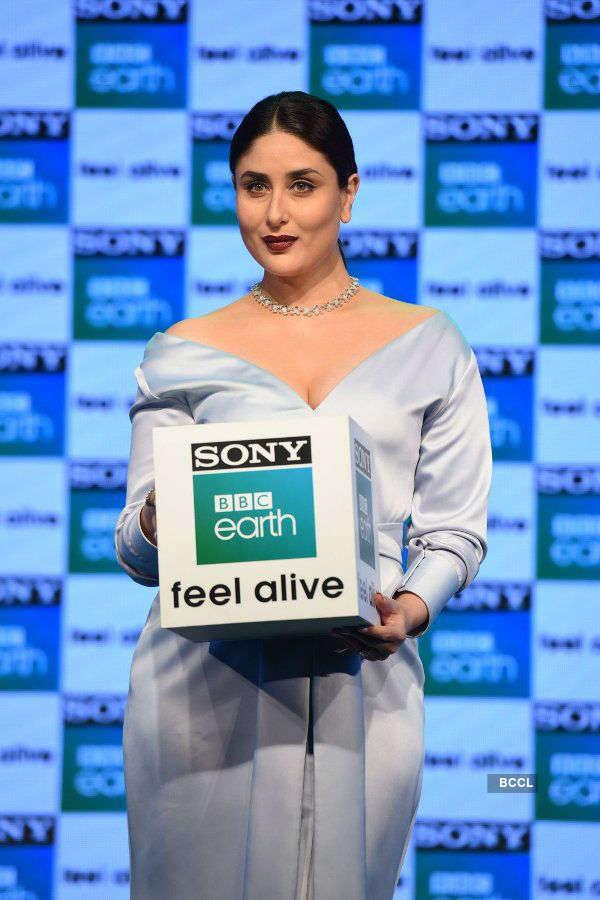 Kareena launches Sony BBC earth