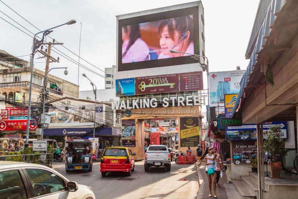 Walk Down Walking Street
