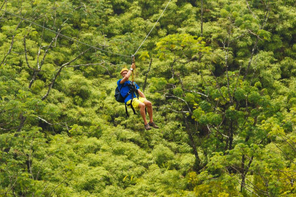 Zipline Kao Yai Da Mountain
