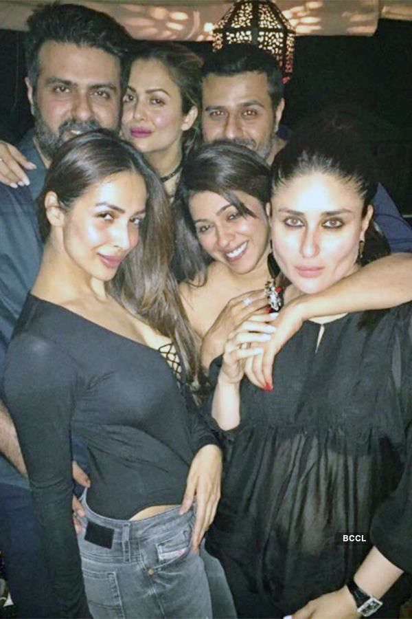 Celebs grace Kareena Kapoor's party
