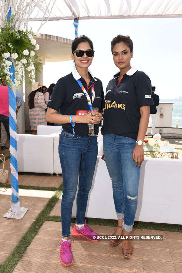 Beauty queens at Nexa P1 Powerboat Party