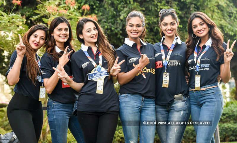 Beauty queens at Nexa P1 Powerboat Race Finale