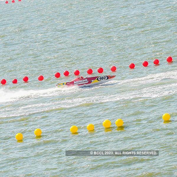 Celebs attend Nexa P1 Powerboat Race