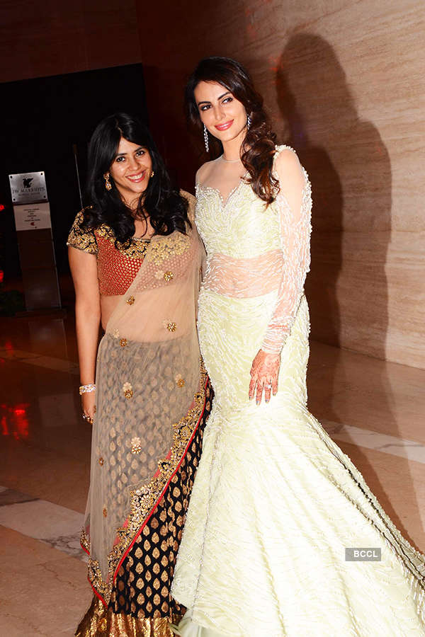 Celebrities at Mandana Karimi's Wedding Reception