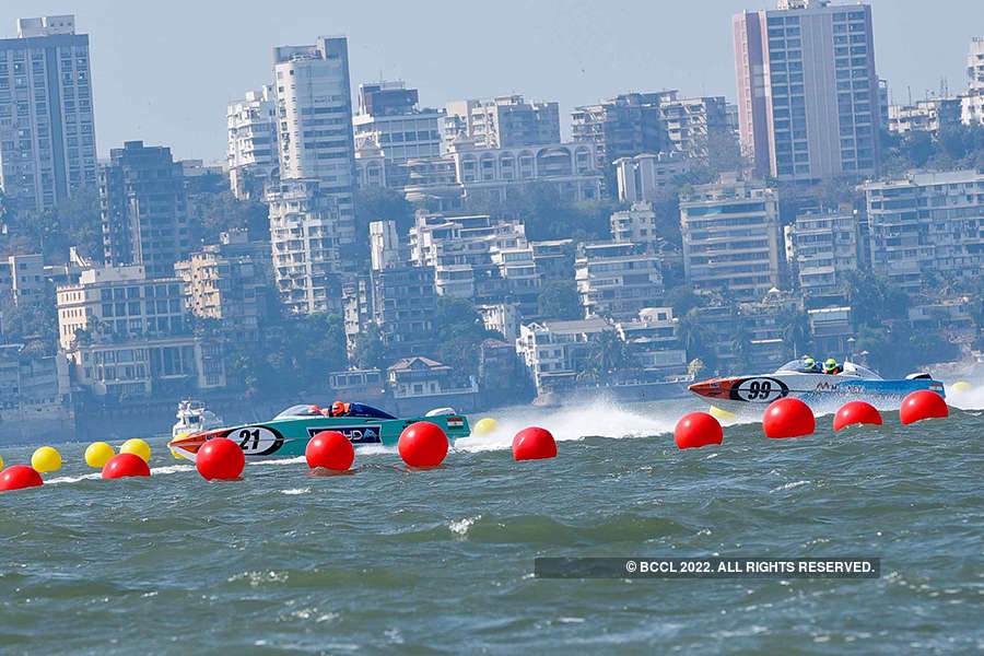 Celebs attend Nexa P1 Powerboat Race
