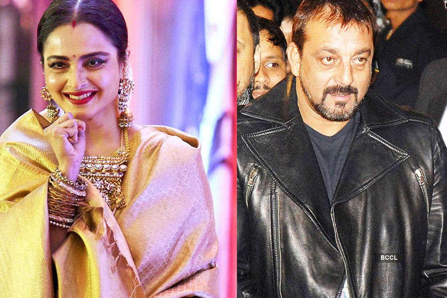 OOPS! False rumour of Rekha-Sanjay Dutt's marriage goes viral