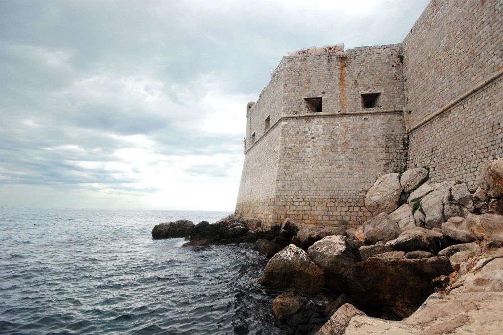Ancient walls of Dubrovnik