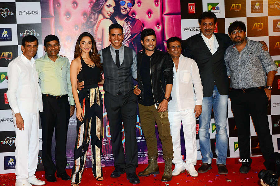 Tu Cheez Badi Hai Mast Mast: Song launch