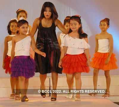Kids Walk The Ramp During Army Institute Of Fashion And Design S Graduation Day At Ambedkar Bhavan In Bangalore Photogallery