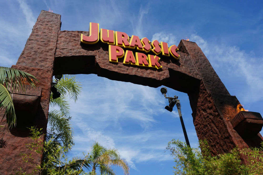 Take The Flying Dinosaur Ride Inside Jurassic Park