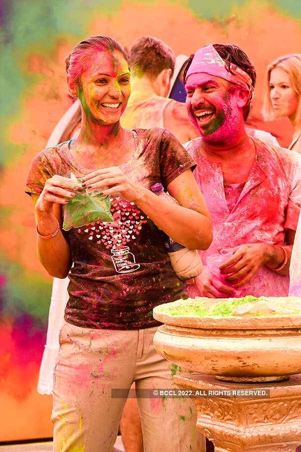 Vineet Jain's Holi Party 2017 - 1