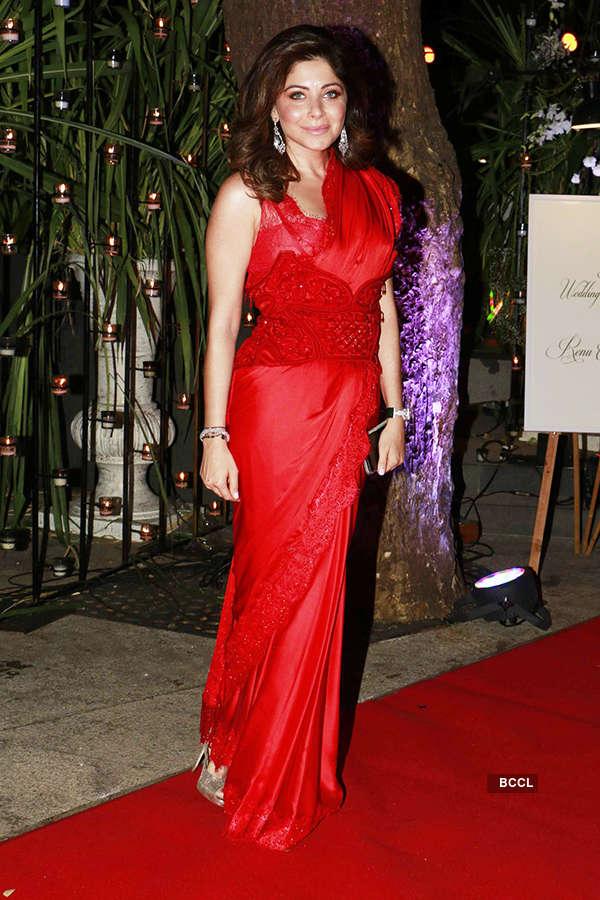 Aditya Garware & Renu Chaniani's wedding reception