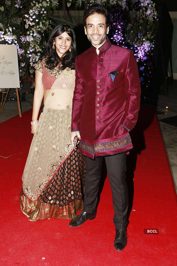 Aditya Garware & Renu Chaniani's wedding reception