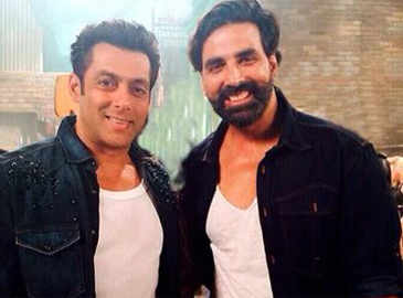 Salman Khan rubbishes rumours of him walking out of film with Akshay Kumar