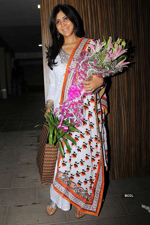 Celebs attend Aamir Khan's b'day party