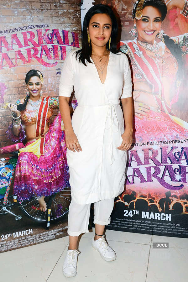 Swara Bhaskar during the promotion