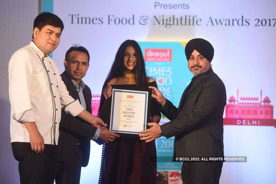 Times Nightlife Awards '17 - Delhi: Winners