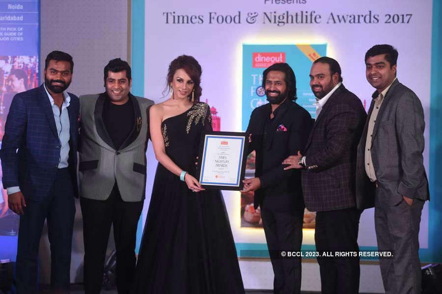 Times Nightlife Awards '17 - Delhi: Winners