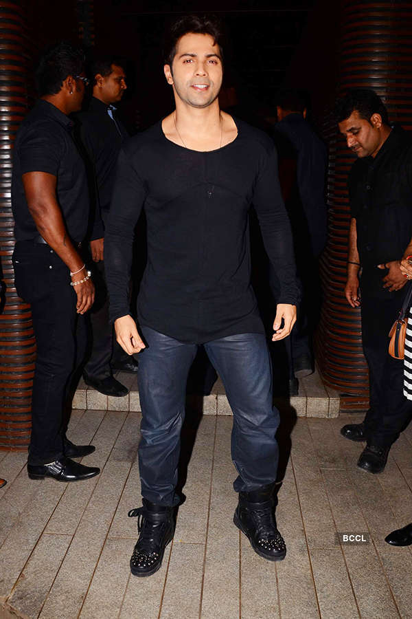 Varun Dhawan attends the success party