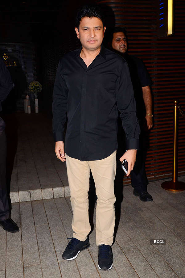Bhushan Kumar attends the success party