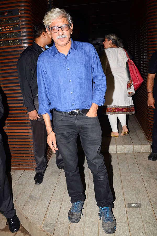Sriram Raghavan attends the success party