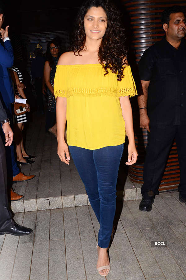 Saiyami Kher attends the success party