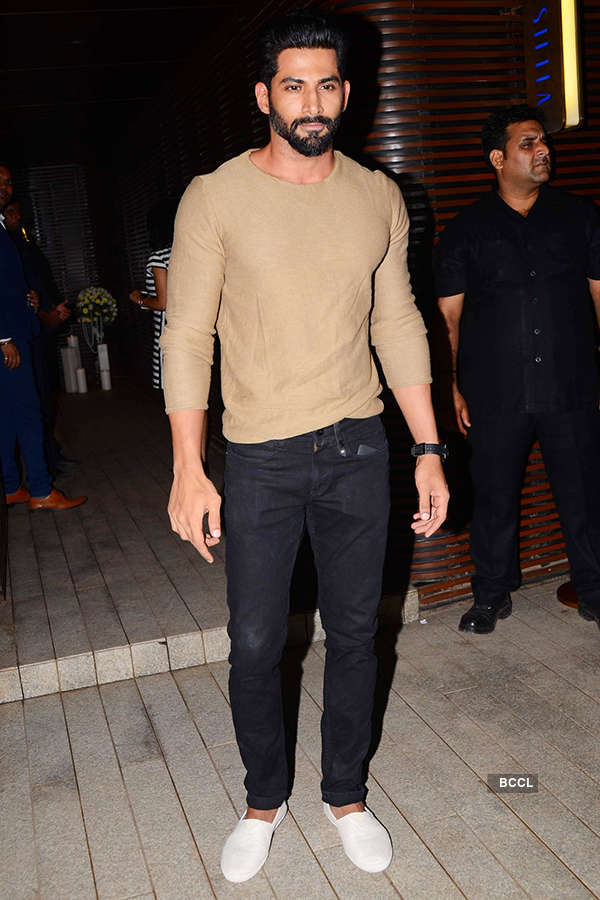 Vivan Bhatena attends the success party