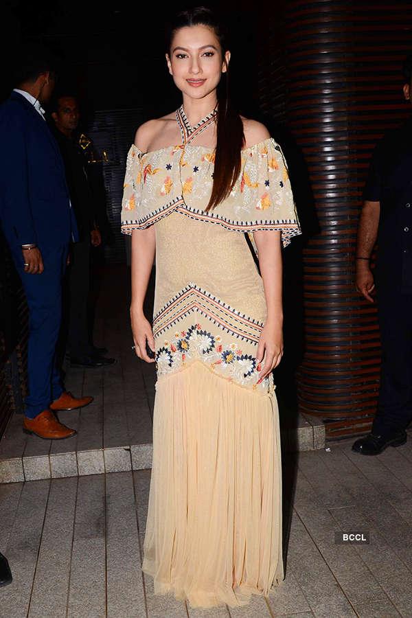 Begum Jaan actress Gauhar Khan attends the success party