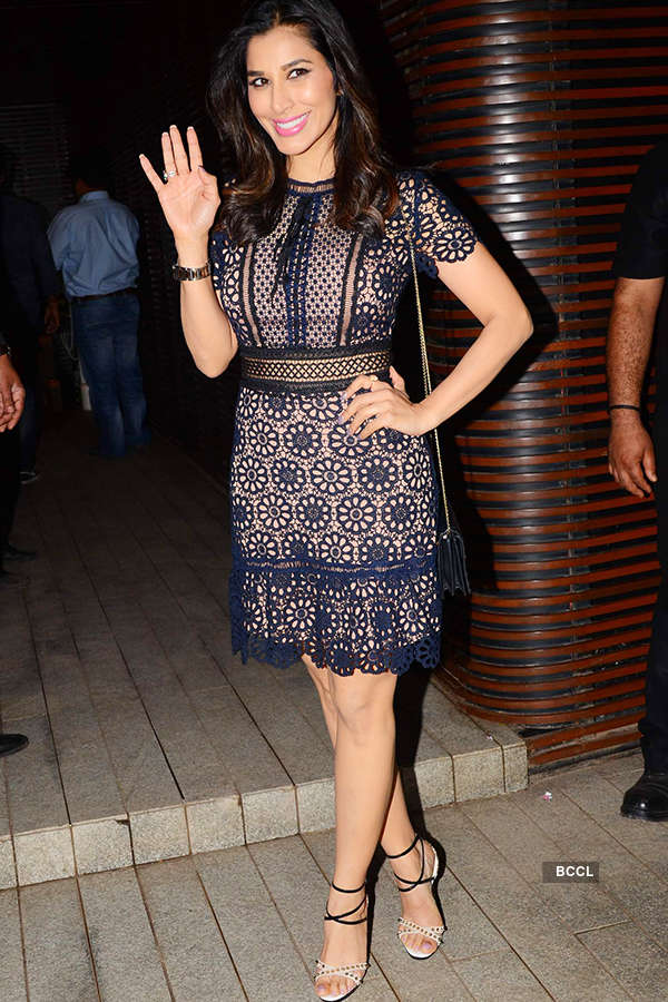 Sophie Choudry attends the success party